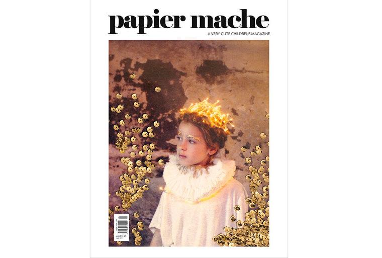 Le tapis Cardinal est dans le magazine Papier Mache n°6