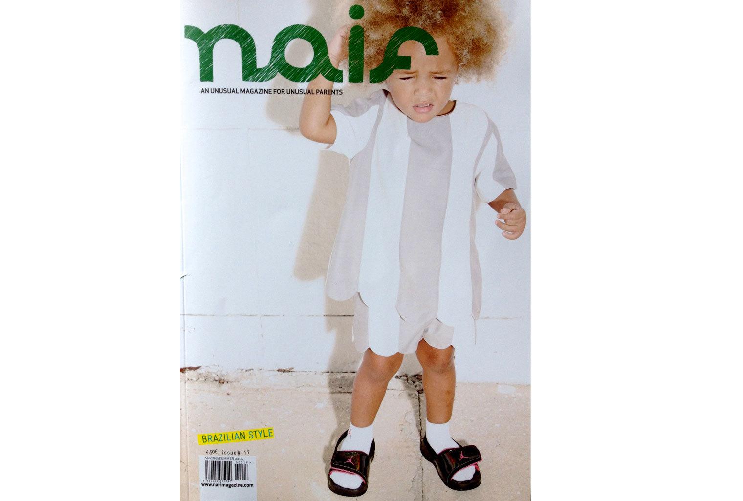 Merci à Florence Rolando du Pirouette Blog pour avoir cité le décor Manja dans le Naif N°17
