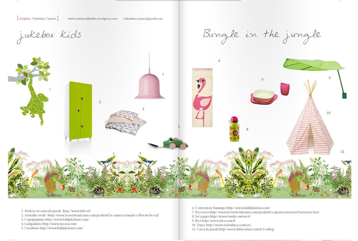 Décor Botanique est présenté dans le magazine Blossom