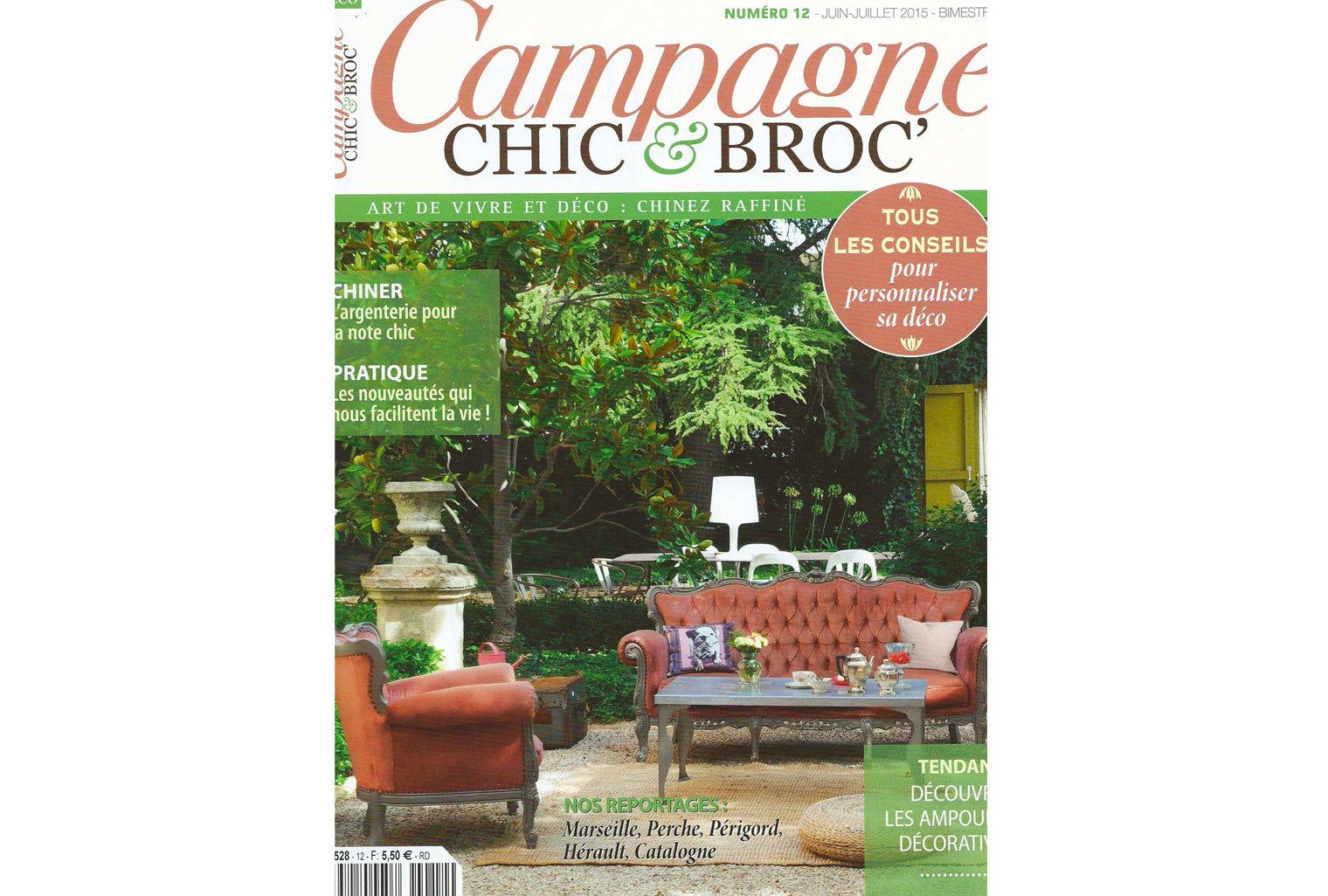 Les tapis Cardinal et Petronia dans Campagne Chic&Broc