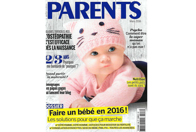 Tapis Tilky roux dans le magazine Parents