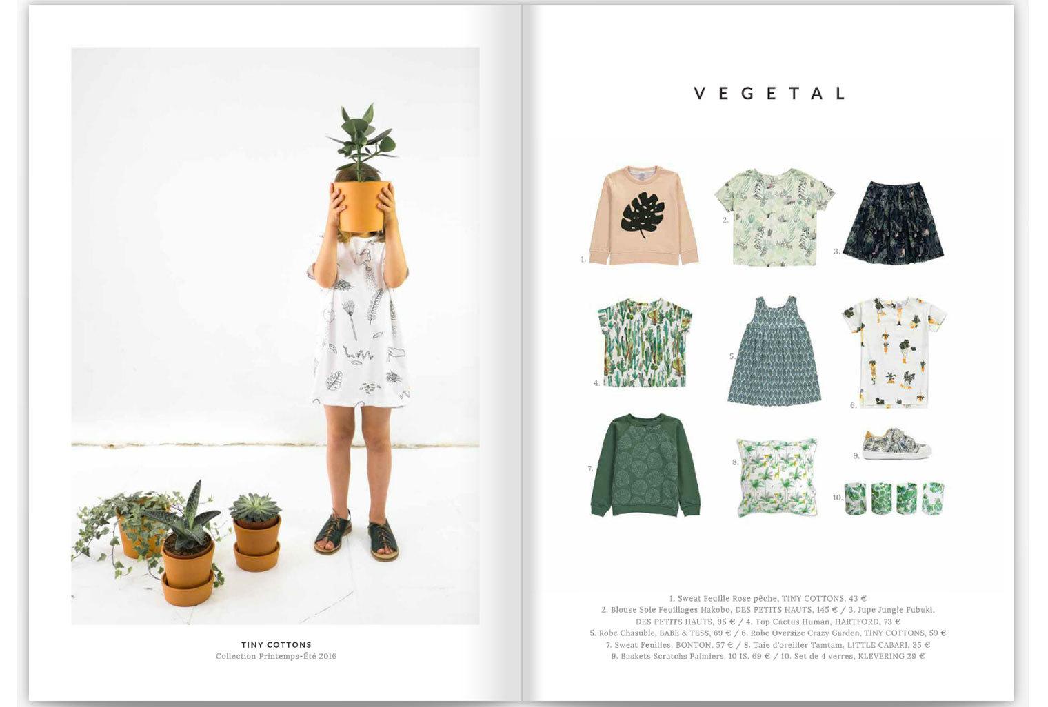 Oreiller TamTam Minty dans Smallable Magazine
