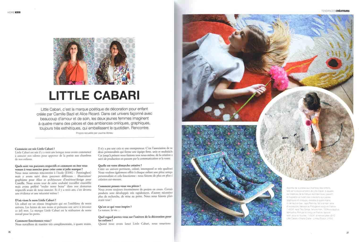 Présentation de Little Cabari dans Home Kids