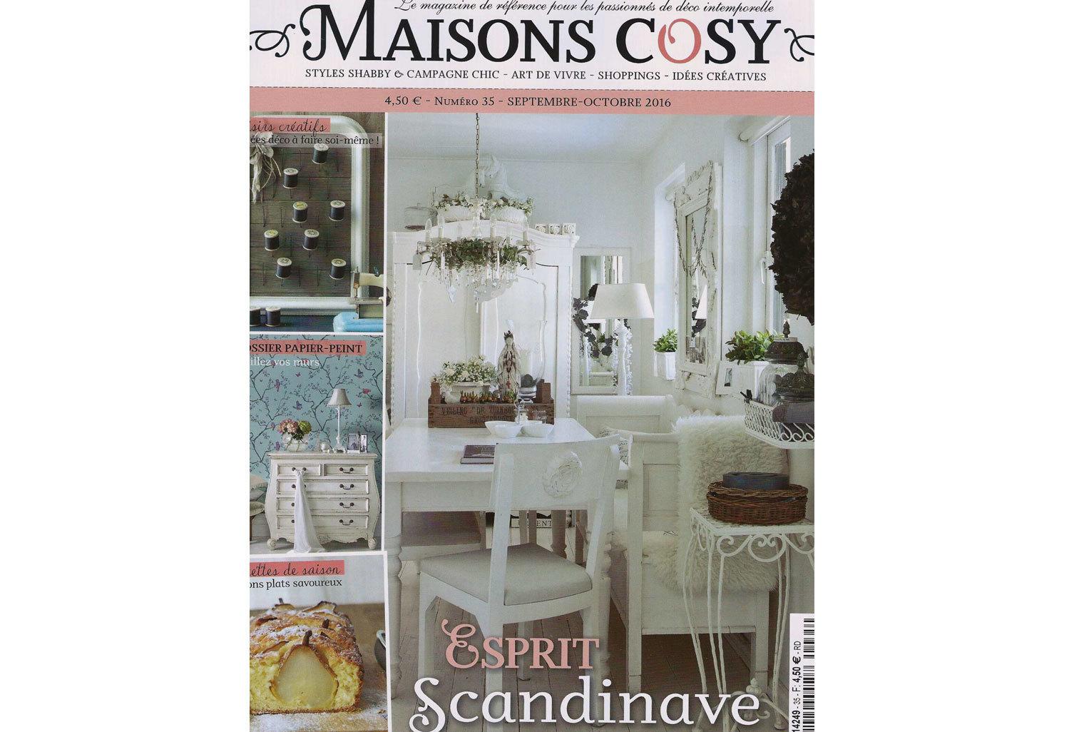 Maison cosy magazine little cabari for Magazine maison