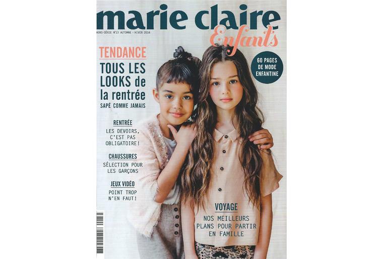 Transat Little Cabari dans Marie Claire Enfants