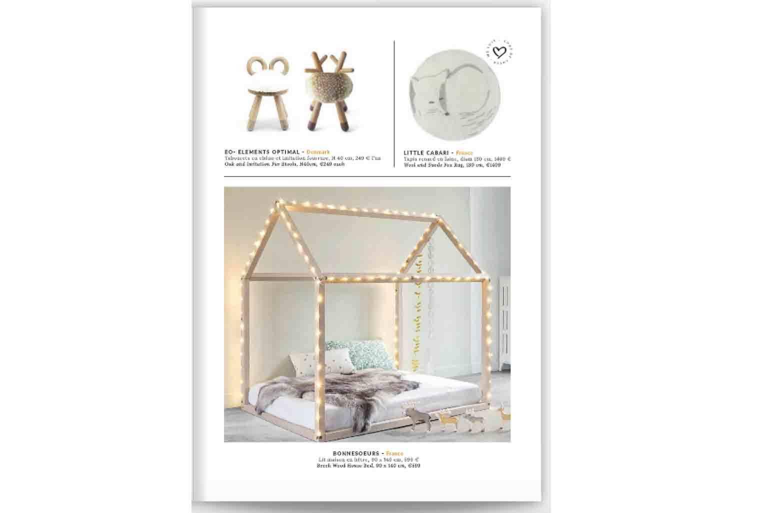 Tapis Kitsuné dans Christmas Guide 2016 - Smallable Store