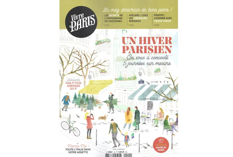 Papier-Peint Décor Verger dans Vivre Paris