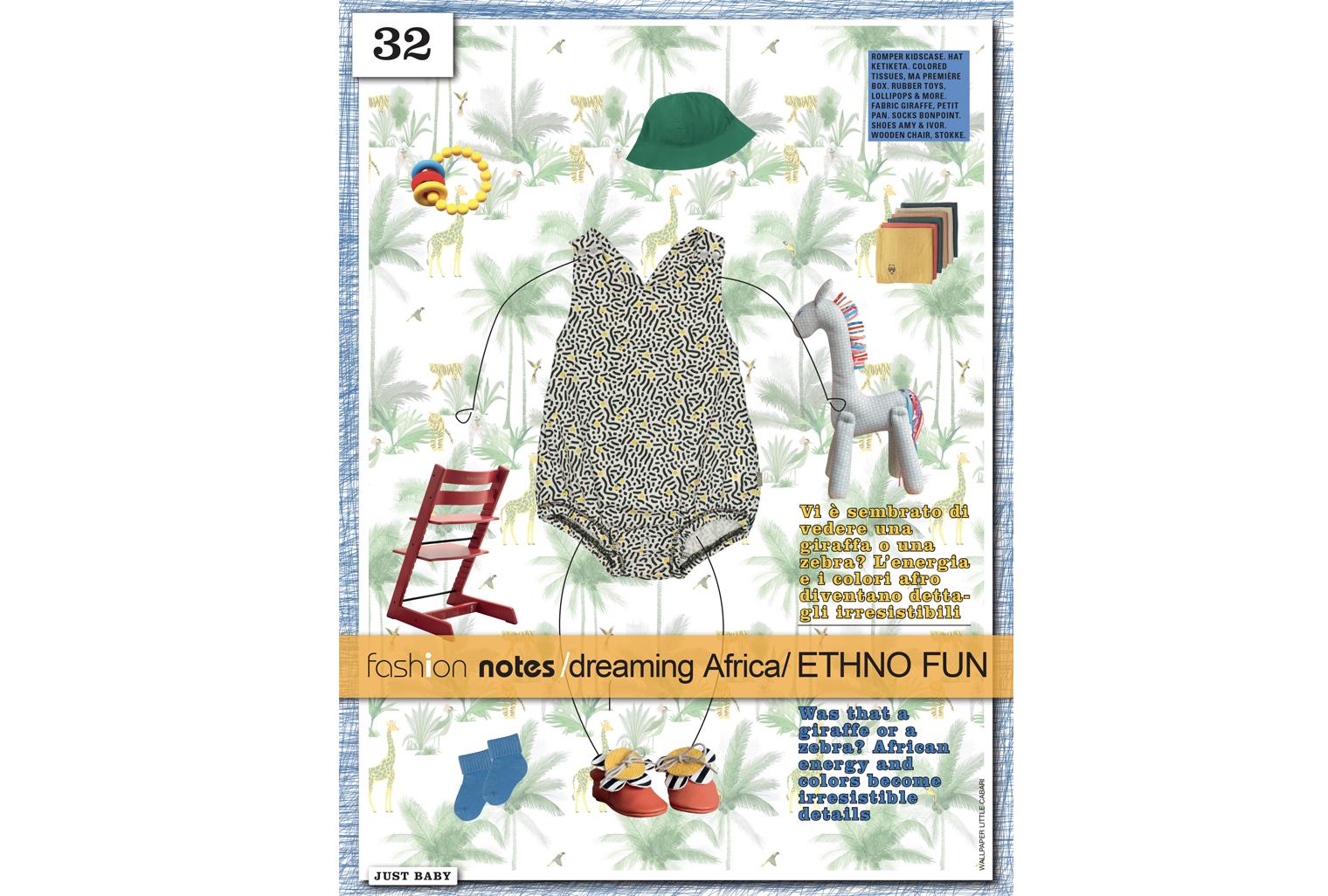 Papier-Peint TamTam dans Vogue Bambini