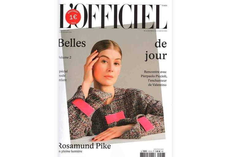 Tapis Cardinal dans L'Officiel Magazine