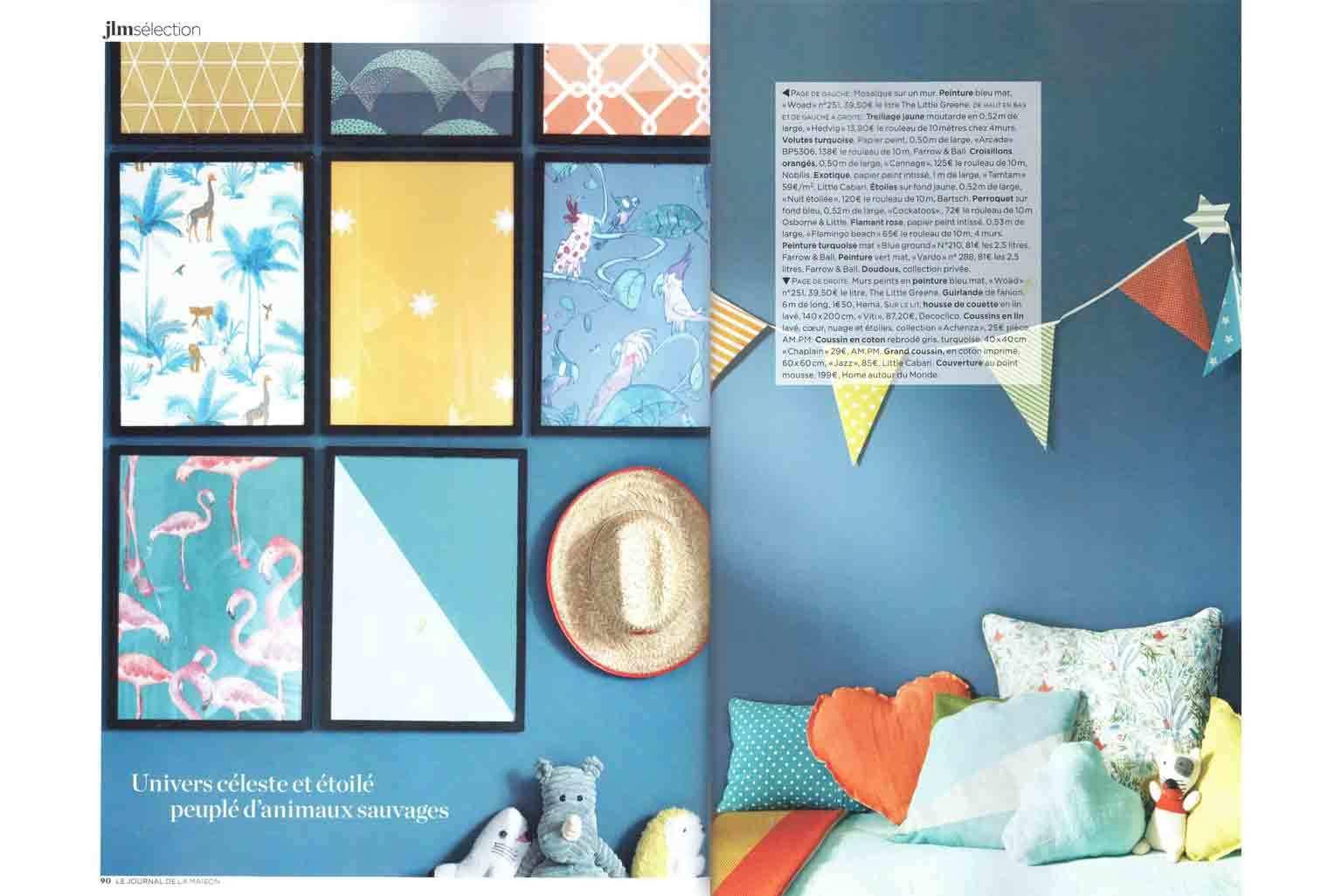 Présentation Little Cabari dans Le Journal de la Maison