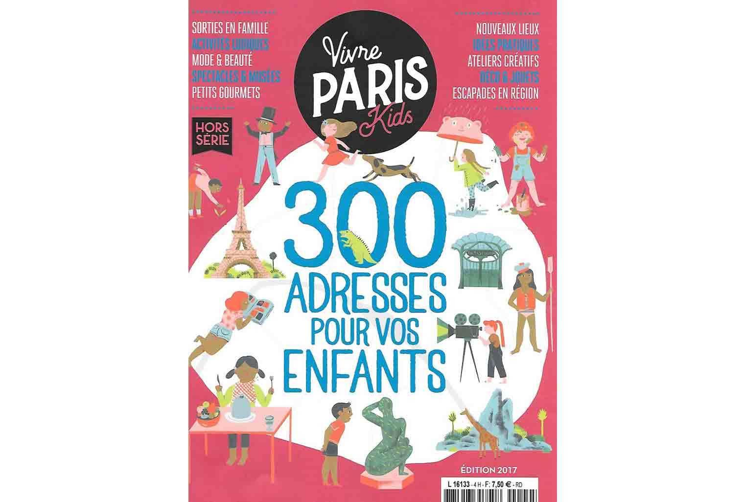 présentation de Little Cabari dans Vivre Paris