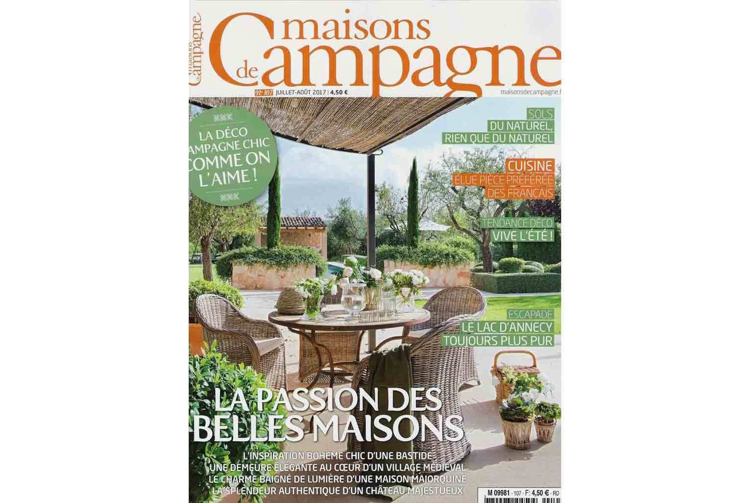 maison de campagne magazine little cabari. Black Bedroom Furniture Sets. Home Design Ideas