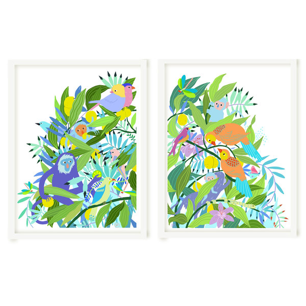 Dyptique Art print Maroola