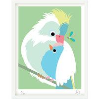 Art Print - Série Tendre bestiaire - Oiseaux