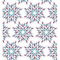 Mazurka bleuet motif
