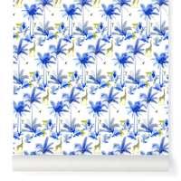 Papier-peint Tamtam bleu