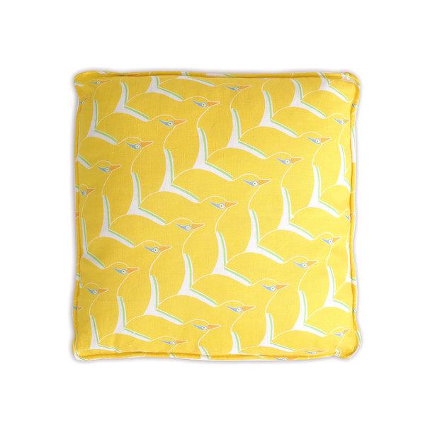 Coussin Bamba jaune