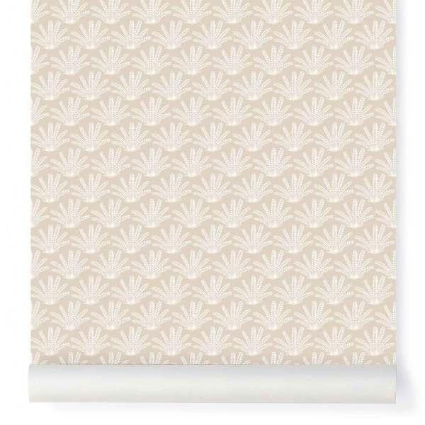 Papier-peint Maracas beige