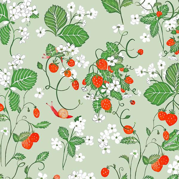 Papier-peint Strawberry fields forever