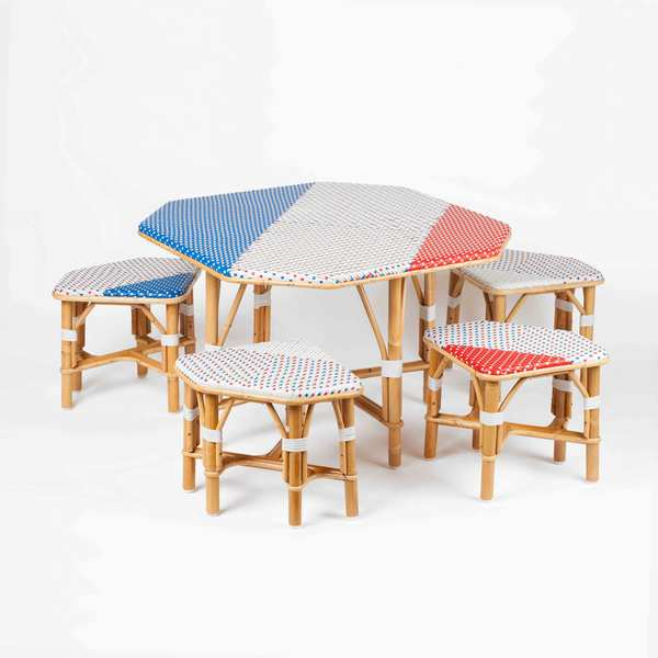 Ensemble en rotin little cabari for Mobilier japonais paris 15