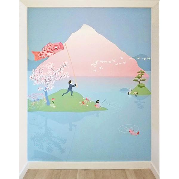 Décor Sakura chambre