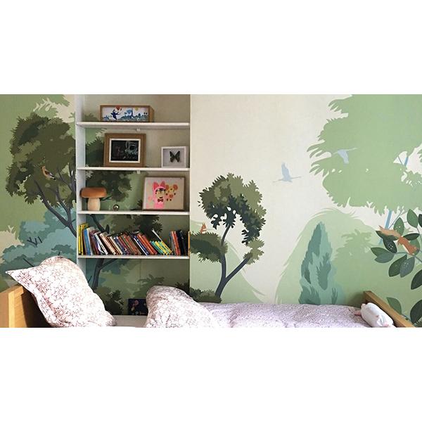 Papier-Peint Clair-Obscur décor chambre
