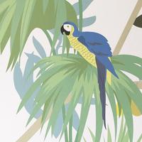 Little cabari decor jungle detail