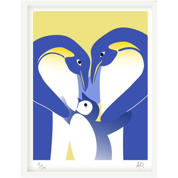 Art print Pingouin