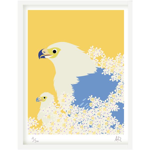 Art print Aigle